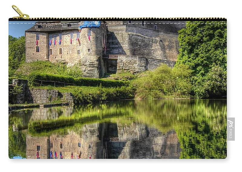 Kost Carry-all Pouch featuring the photograph Kost Castle by Michal Boubin