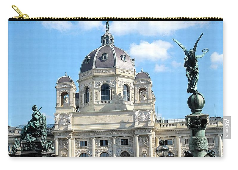 Vienna Carry-all Pouch featuring the photograph Kunsthistoriches Museum Vienna by Ian MacDonald