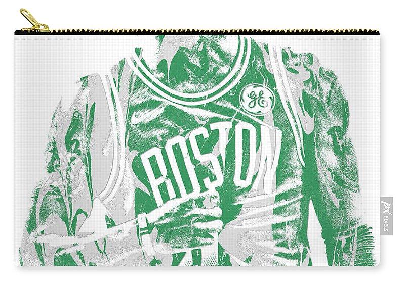 60b46c2b4f1 Kyrie Irving Boston Celtics Pixel Art 7 Carry-all Pouch for Sale by Joe  Hamilton
