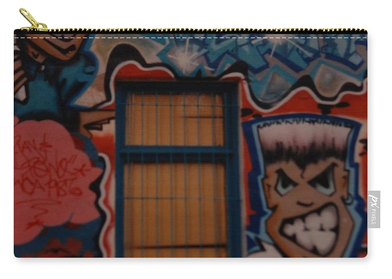 Urban Carry-all Pouch featuring the photograph L A Urban Art by Rob Hans