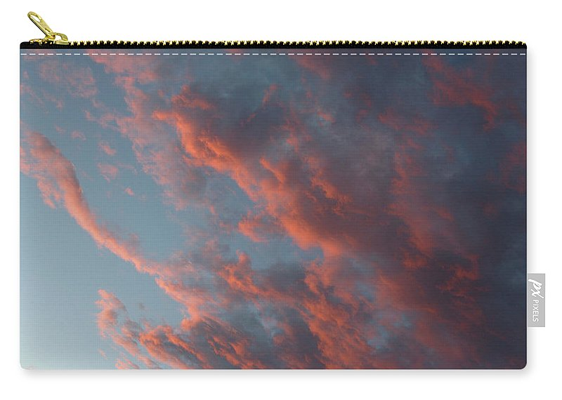 Sunset Carry-all Pouch featuring the photograph La Boca Sunset by Jerry McElroy