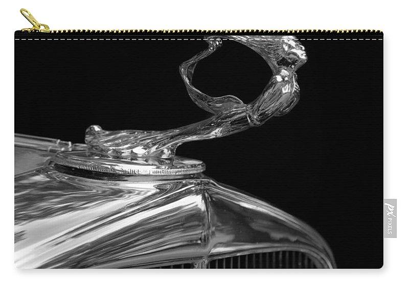 La Gioconda Carry-all Pouch featuring the photograph La Gioconda by Susan Rissi Tregoning