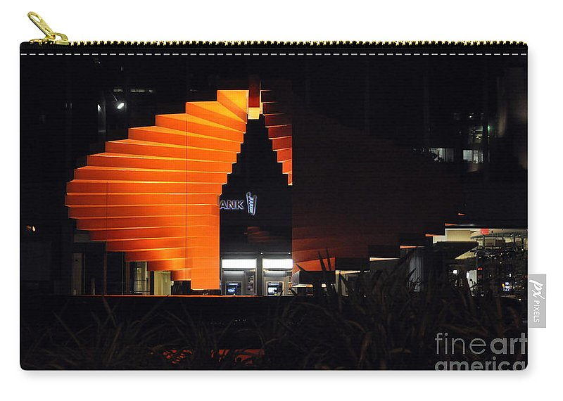 Clay Carry-all Pouch featuring the photograph L.a. Nights by Clayton Bruster