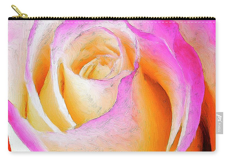 Roses Carry-all Pouch featuring the painting Labyrinth by Dominic Piperata