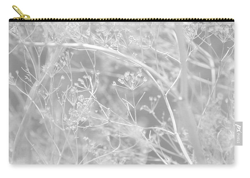 Queen Annes Lace Carry-all Pouch featuring the photograph Lace by Donna Blackhall