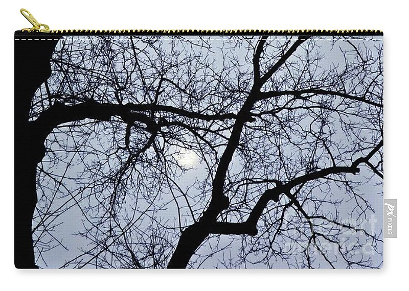Tree Carry-all Pouch featuring the photograph Lace by Sarah Loft