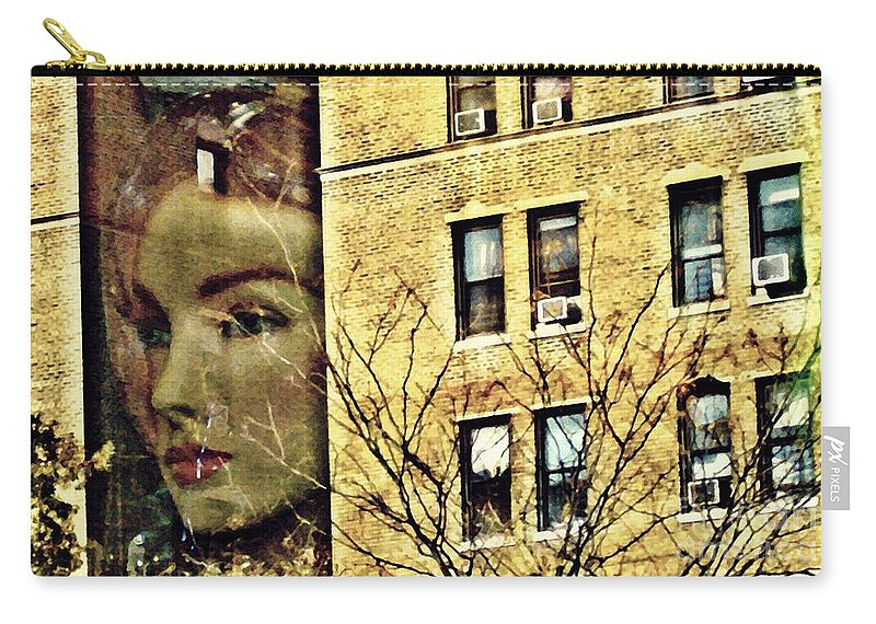 Face Carry-all Pouch featuring the photograph Lady Of The House by Sarah Loft