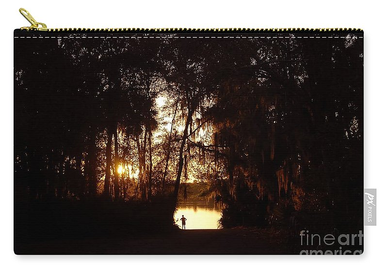 Lake Carry-all Pouch featuring the photograph Lady Of The Lake by David Lee Thompson