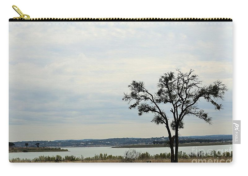 Carry-all Pouch featuring the photograph Lake 007 by Jeff Downs
