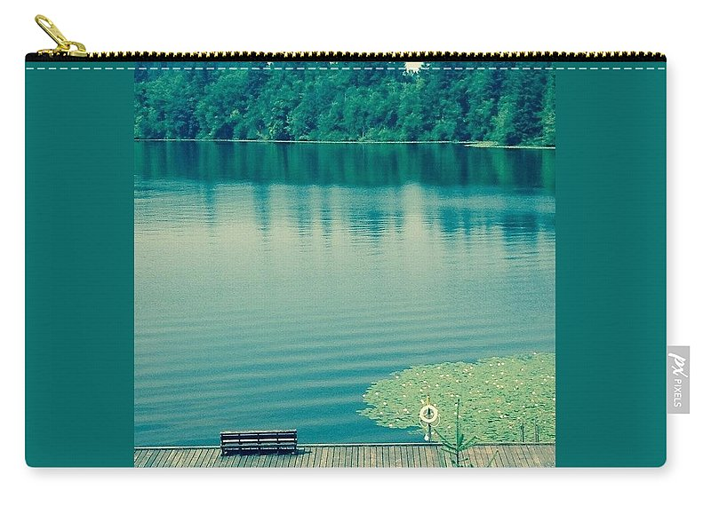 Lake Carry-all Pouch featuring the photograph Lake by Andrew Redford