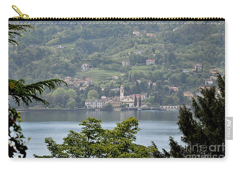Nature Carry-all Pouch featuring the photograph Lake Como View From Villa Carlotta Italy by Tanya Searcy