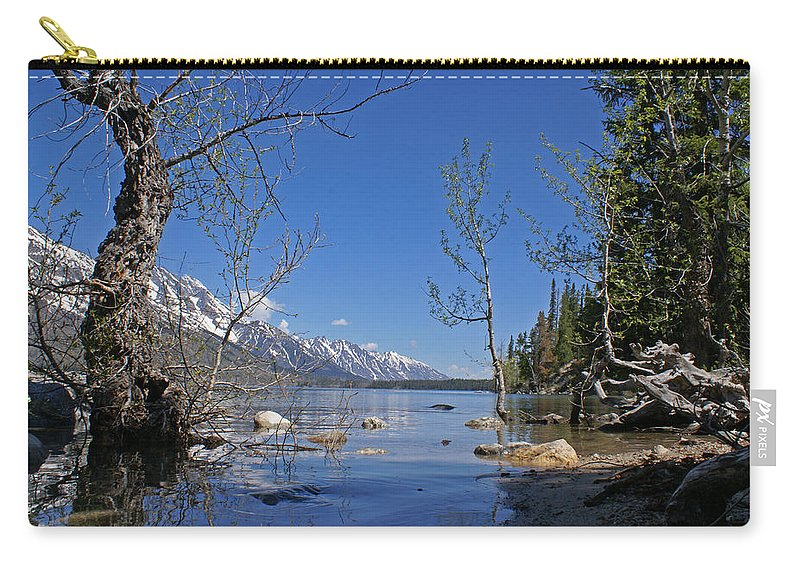 Lake Jenny Carry-all Pouch featuring the photograph Lake Jenny by Heather Coen