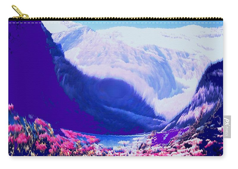Lake Louise Carry-all Pouch featuring the photograph Lake Louise by Ian MacDonald