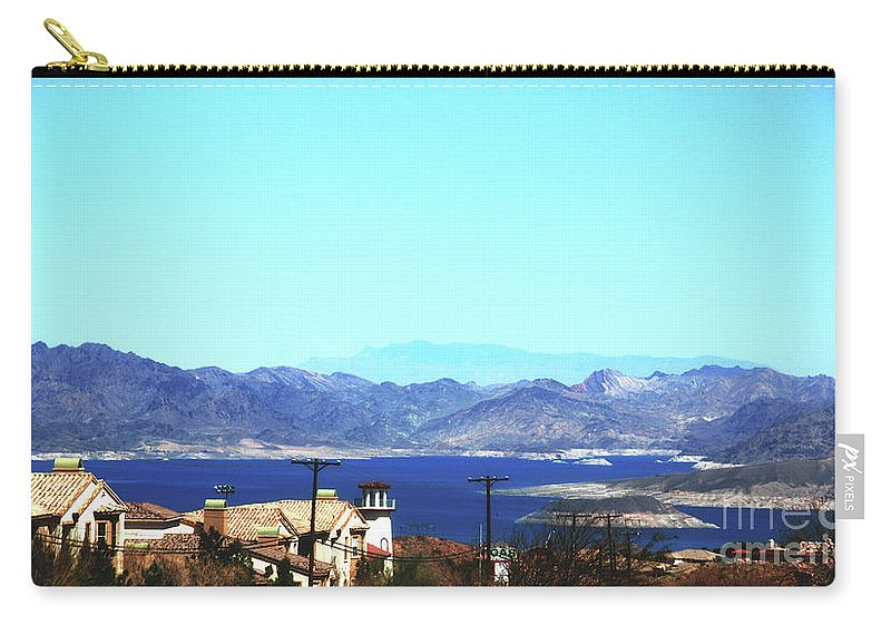 Lake Carry-all Pouch featuring the photograph Lake Mead Las Vegas by Susanne Van Hulst