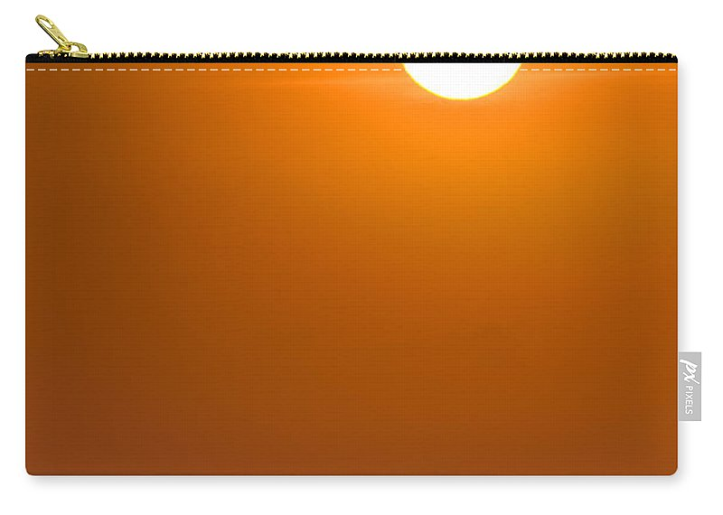 Chicago Carry-all Pouch featuring the photograph Lake Michigan Sunrise Chicago by Steve Gadomski