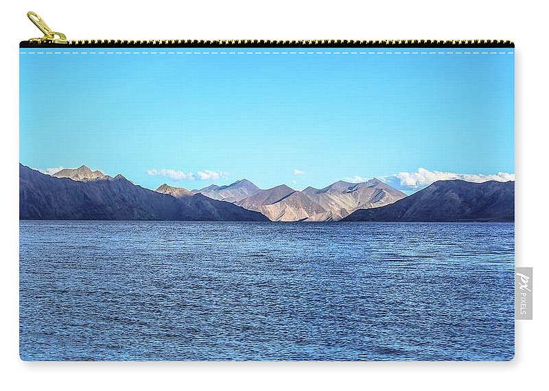 Beautiful Landscape Carry-all Pouch featuring the photograph Lake Pangong by Anupam Gupta
