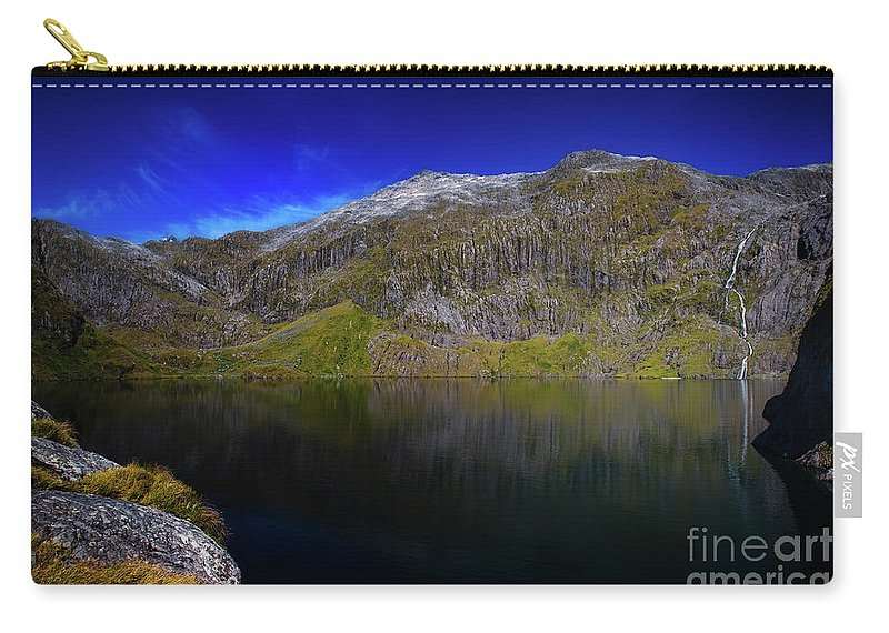 Lake Quill Carry-all Pouch featuring the photograph Lake Quill by Doug Sturgess