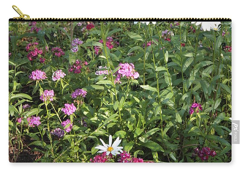 Garden Carry-all Pouch featuring the photograph Lake Tahoe Garden by Carol Groenen