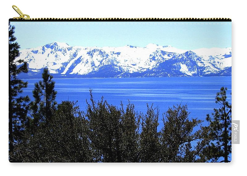 Lake Tahoe Carry-all Pouch featuring the photograph Lake Tahoe by Will Borden