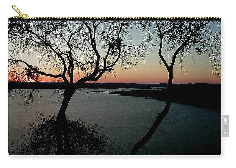 Lake Travis Carry-all Pouch featuring the photograph Lake Travis by Robert Meanor