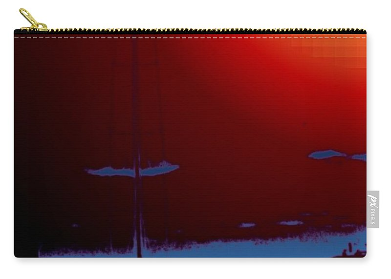 Seattle Carry-all Pouch featuring the photograph Lake Union Moorage by Tim Allen
