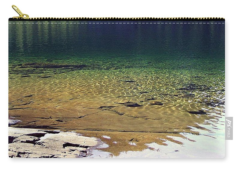 Vancouver B.c. Carry-all Pouch featuring the photograph Lake Washington by Robert Meanor