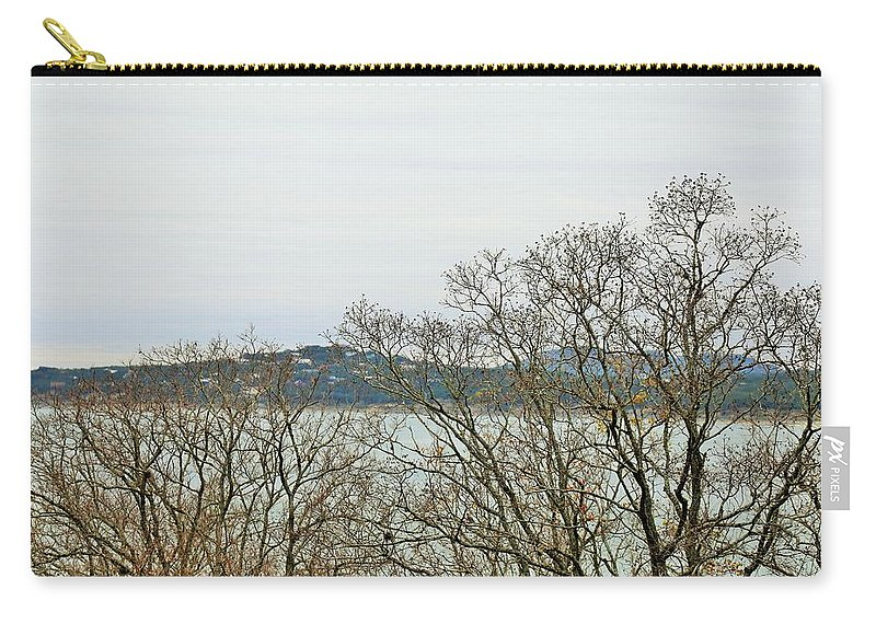 Carry-all Pouch featuring the photograph Lake021 by Jeff Downs