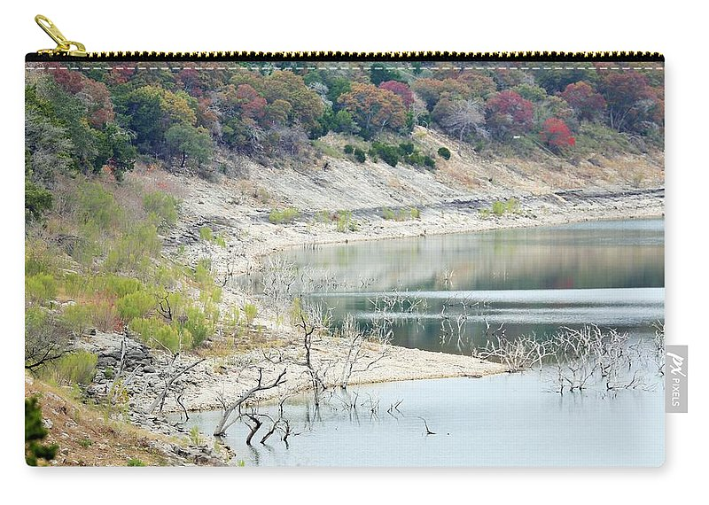 Carry-all Pouch featuring the photograph Lake022 by Jeff Downs