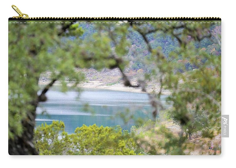 Carry-all Pouch featuring the photograph Lake025 by Jeff Downs
