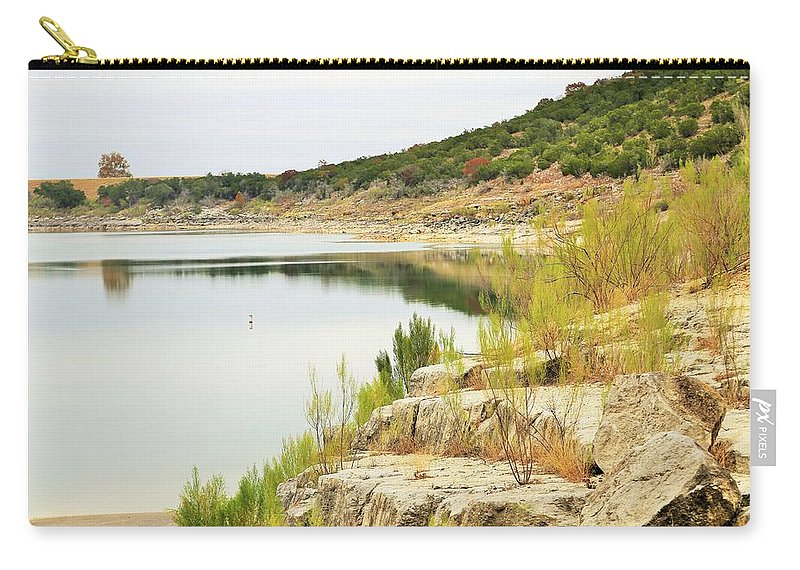 Carry-all Pouch featuring the photograph Lake032 by Jeff Downs
