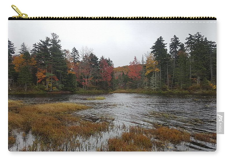 Lake Carry-all Pouch featuring the photograph Lakeshore by Kevin Humphrey