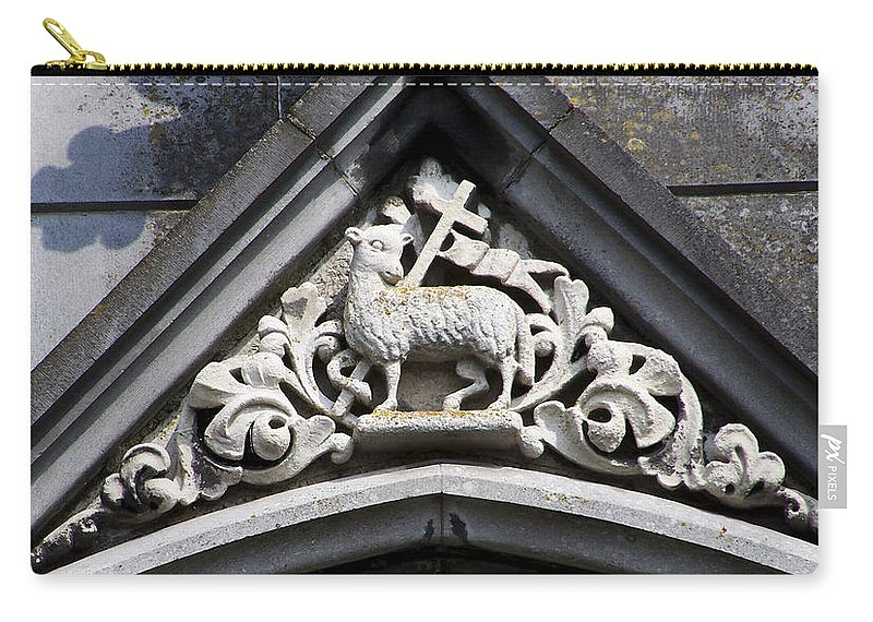 Ireland Carry-all Pouch featuring the photograph Lamb of God by Teresa Mucha