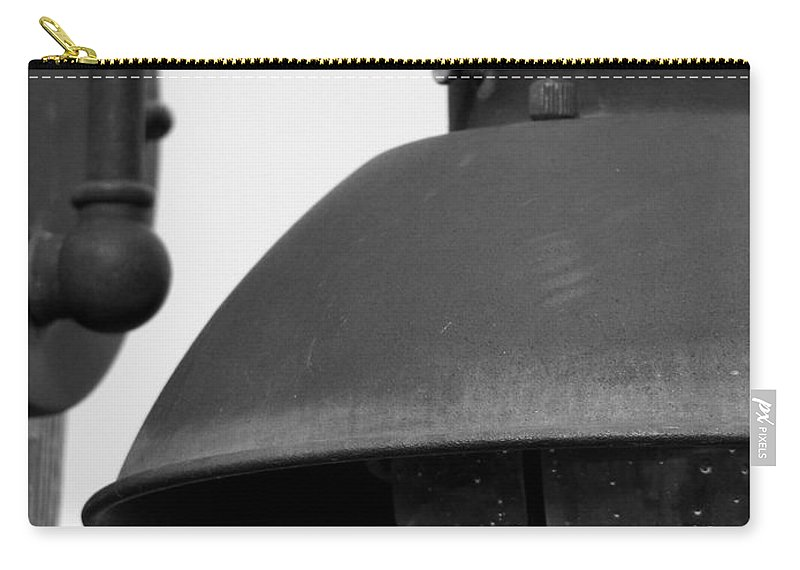 Lamppost Carry-all Pouch featuring the photograph Lamp Post by Amanda Barcon