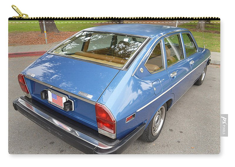 Lancia Beta Berlina Carry-all Pouch featuring the photograph Lancia Beta Berlina by Jackie Russo