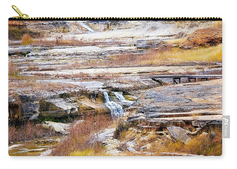 Carry-all Pouch featuring the photograph Land 034 by Jeff Downs