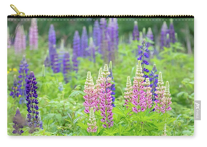 Lupine Carry-all Pouch featuring the photograph Lupine by Mary Amerman