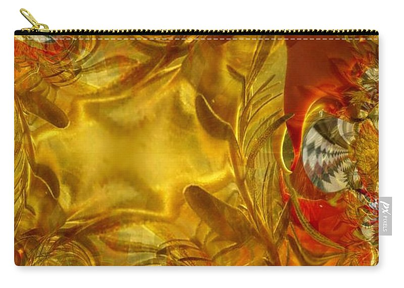 Olive Carry-all Pouch featuring the photograph Land Of Oil And Honey by Ron Bissett