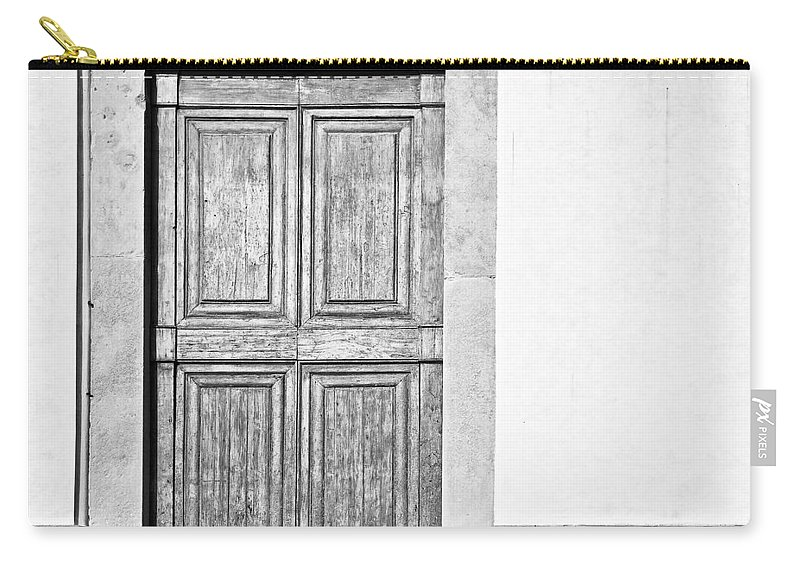 Door Carry-all Pouch featuring the photograph Land Of The Giants by Dave Bowman
