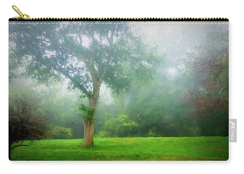 Photography Carry-all Pouch featuring the digital art Landscape Beauty by Terry Davis