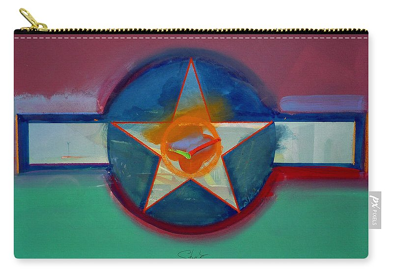 Star Carry-all Pouch featuring the painting Landscape In The Balance by Charles Stuart