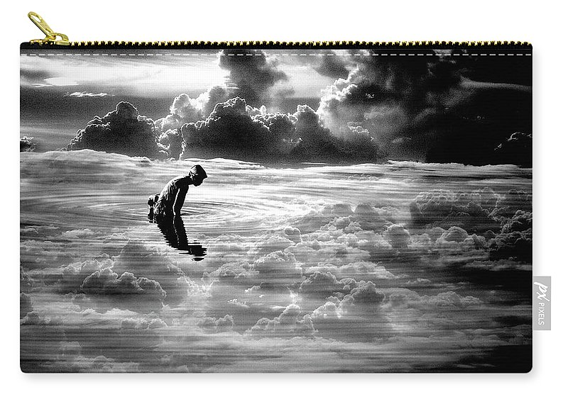 Landscape Carry-all Pouch featuring the photograph Landscape Series 18 by George Cabig