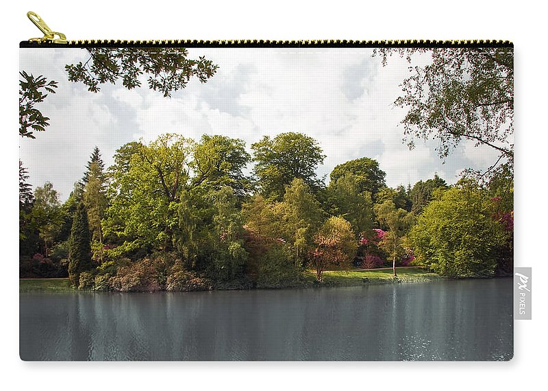 Countryside Carry-all Pouch featuring the photograph Landscape01 by Svetlana Sewell