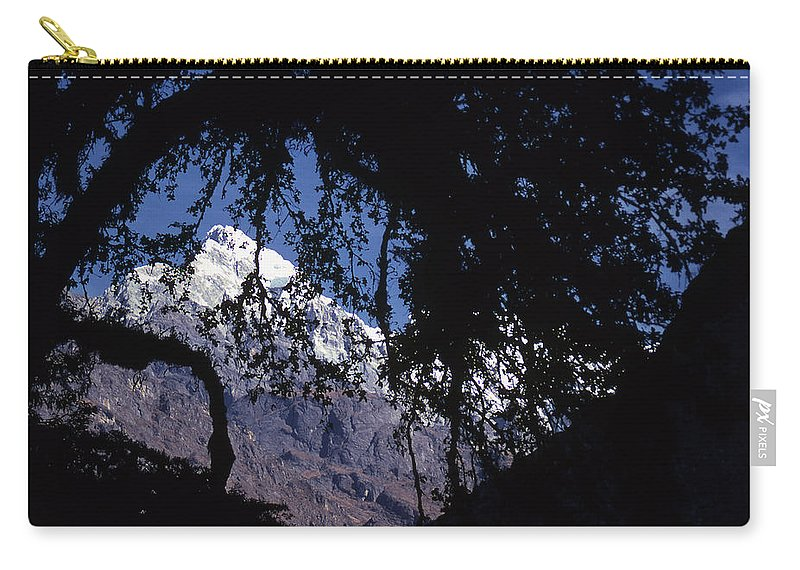 Langtang Carry-all Pouch featuring the photograph Langtang by Patrick Klauss