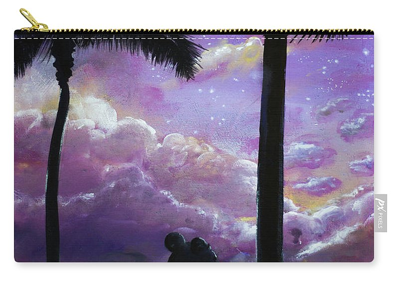Carry-all Pouch featuring the painting Lapras by Magda Swinya