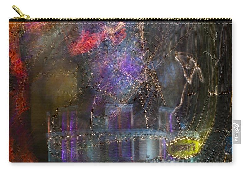 Las Vegas Carry-all Pouch featuring the photograph Las Vegas Strip 2182 by Bob Neiman