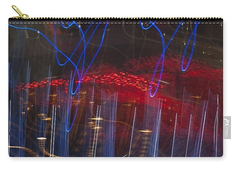 Las Vegas Carry-all Pouch featuring the photograph Las Vegas Strip 2302 by Bob Neiman