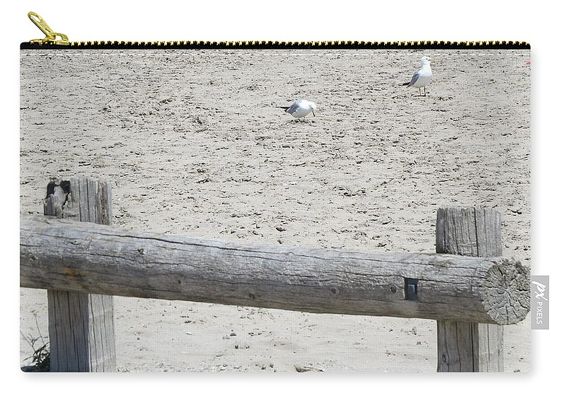 Beach Carry-all Pouch featuring the photograph Last Days Of Summer by Brenda Dowell