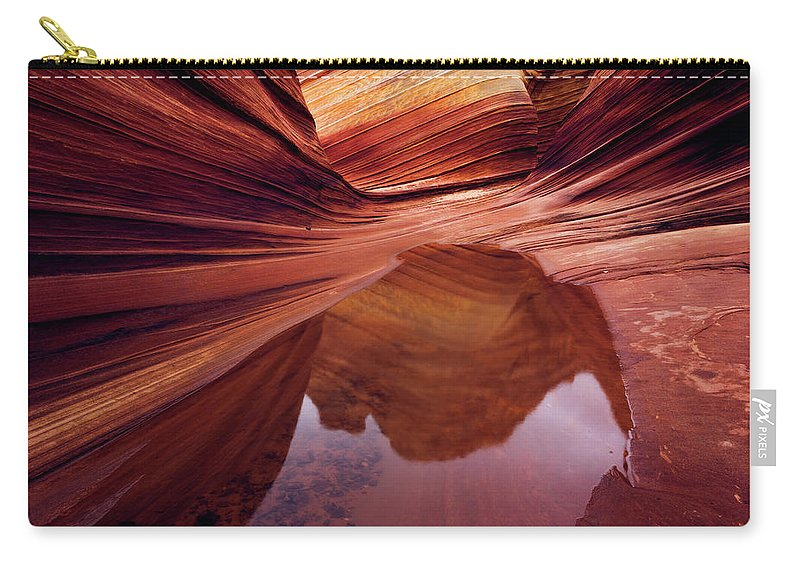 Chad Dutson Carry-all Pouch featuring the photograph Last Glance by Chad Dutson