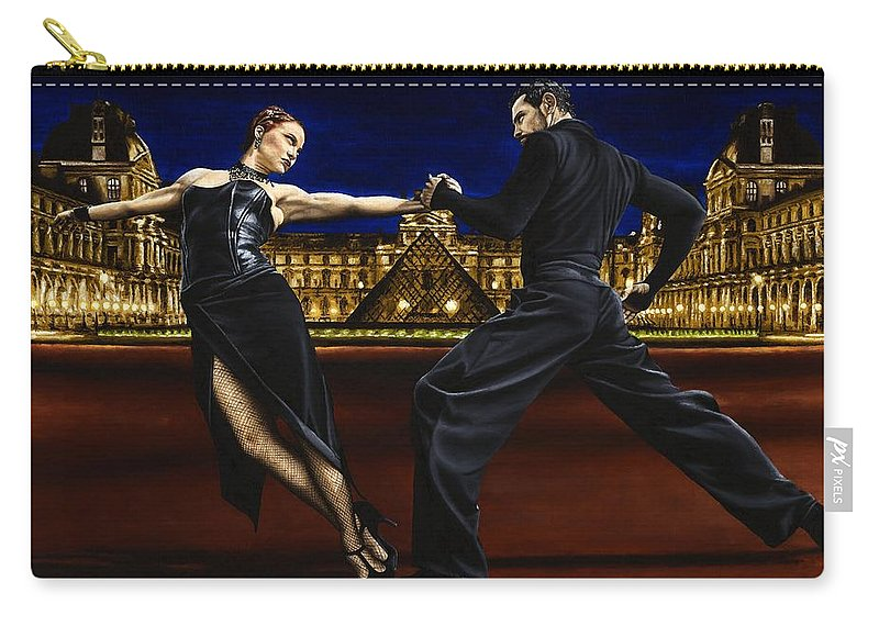 Tango Carry-all Pouch featuring the painting Last Tango In Paris by Richard Young
