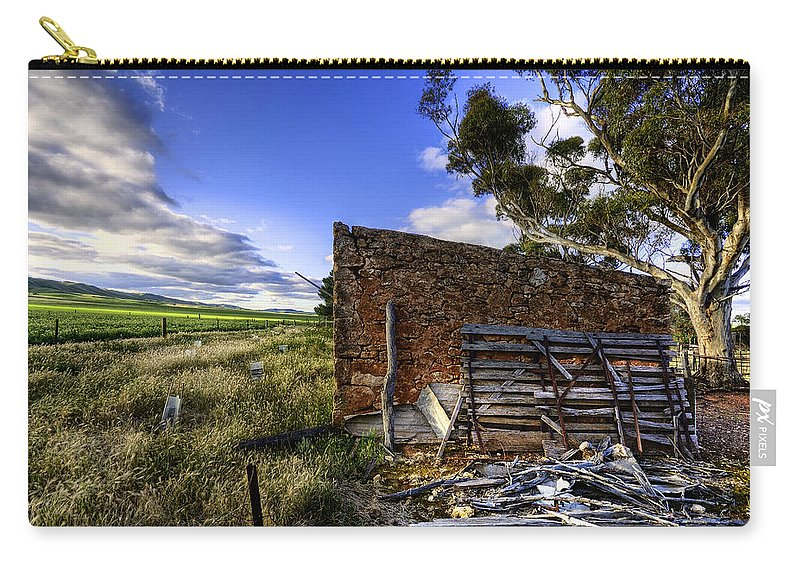 Farm Carry-all Pouch featuring the photograph Late Afternoon by Wayne Sherriff
